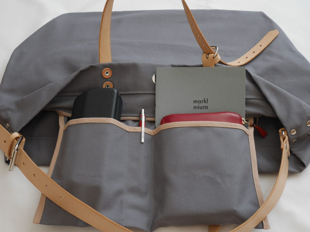 PAPA BAG grey/grau #1 (Tote bag/Tragetasche)