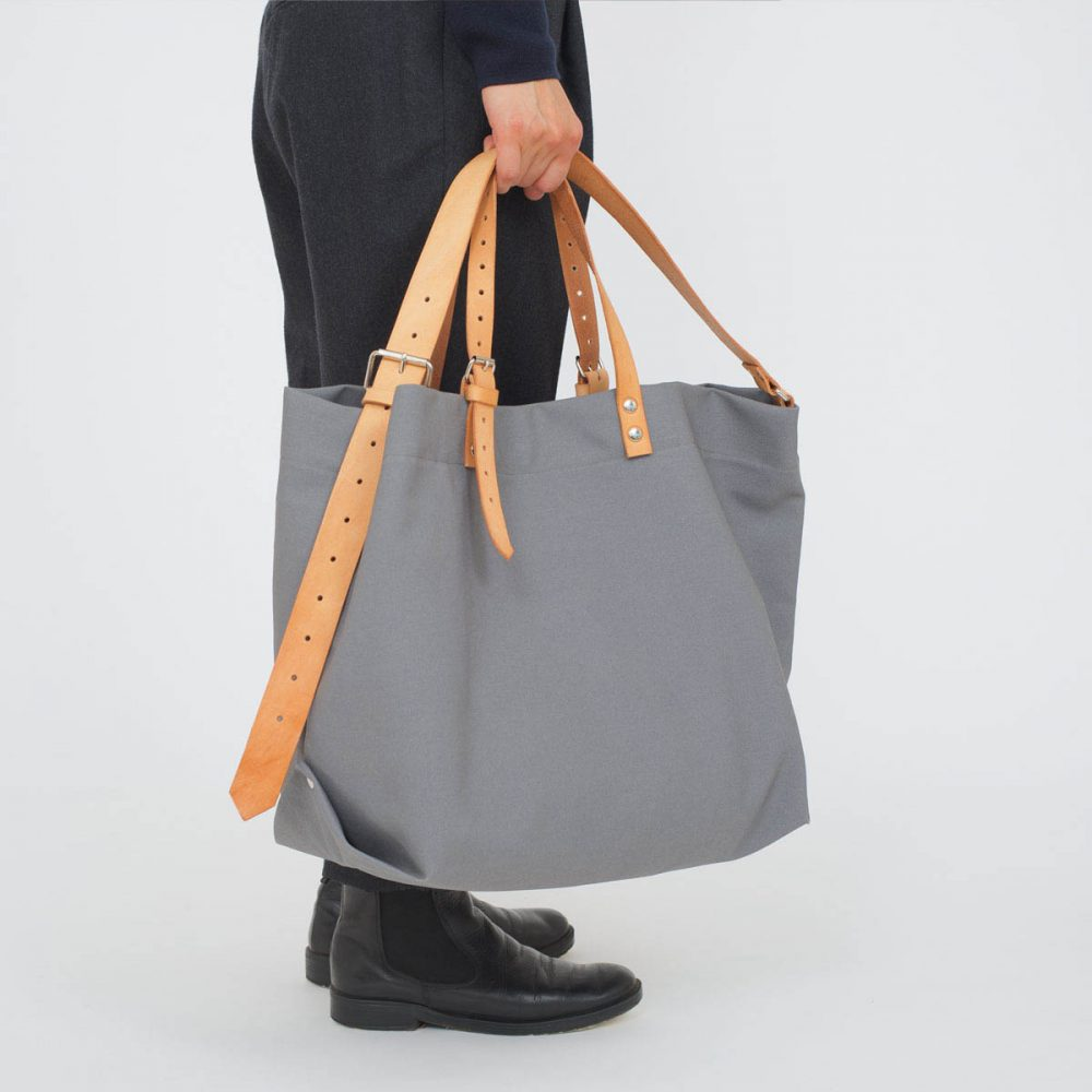 PAPA BAG grey/grau #4 (Tote bag/Tragetasche)