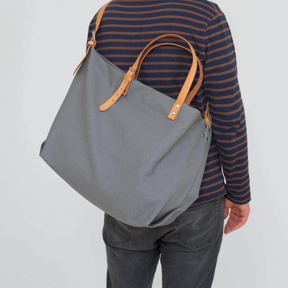 PAPA BAG grey/grau #5 (Tote bag/Tragetasche)