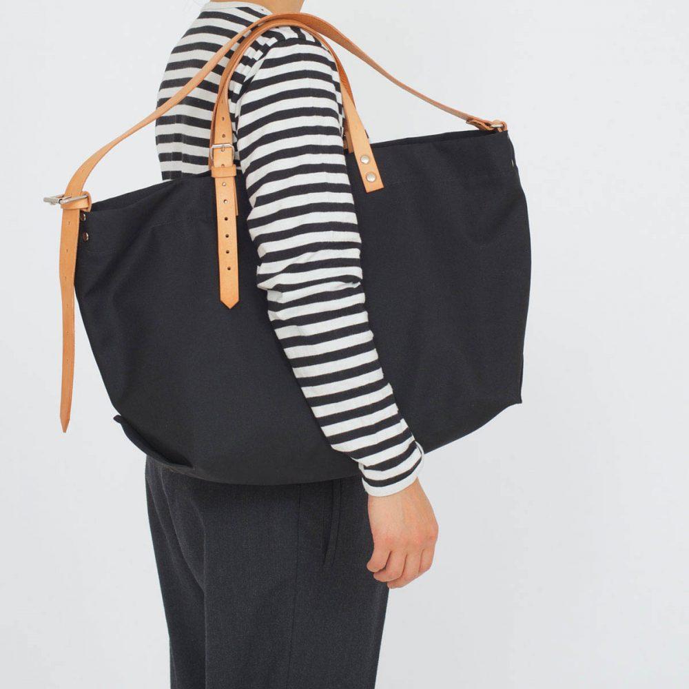 PAPA BAG black/schwarz #5 (Tote bag/Tragetasche)