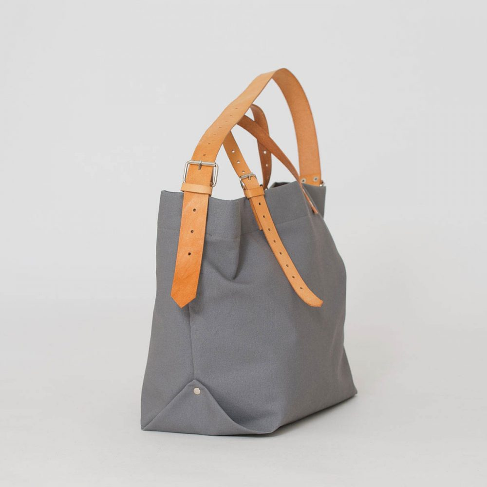 PAPA BAG grey/grau #2 (Tote bag/Tragetasche)