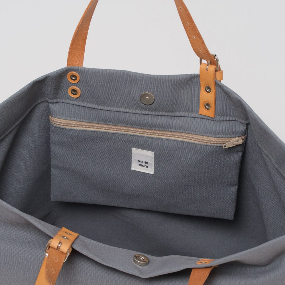 PAPA BAG grey/grau #3 (Tote bag/Tragetasche)