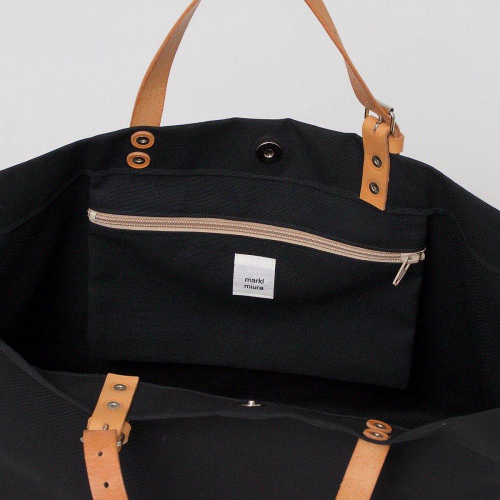 PAPA BAG black/schwarz #3 (Tote bag/Tragetasche)