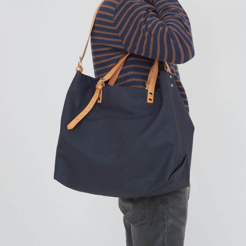 PAPA BAG navy/blau #6 (Tote bag/Tragetasche)