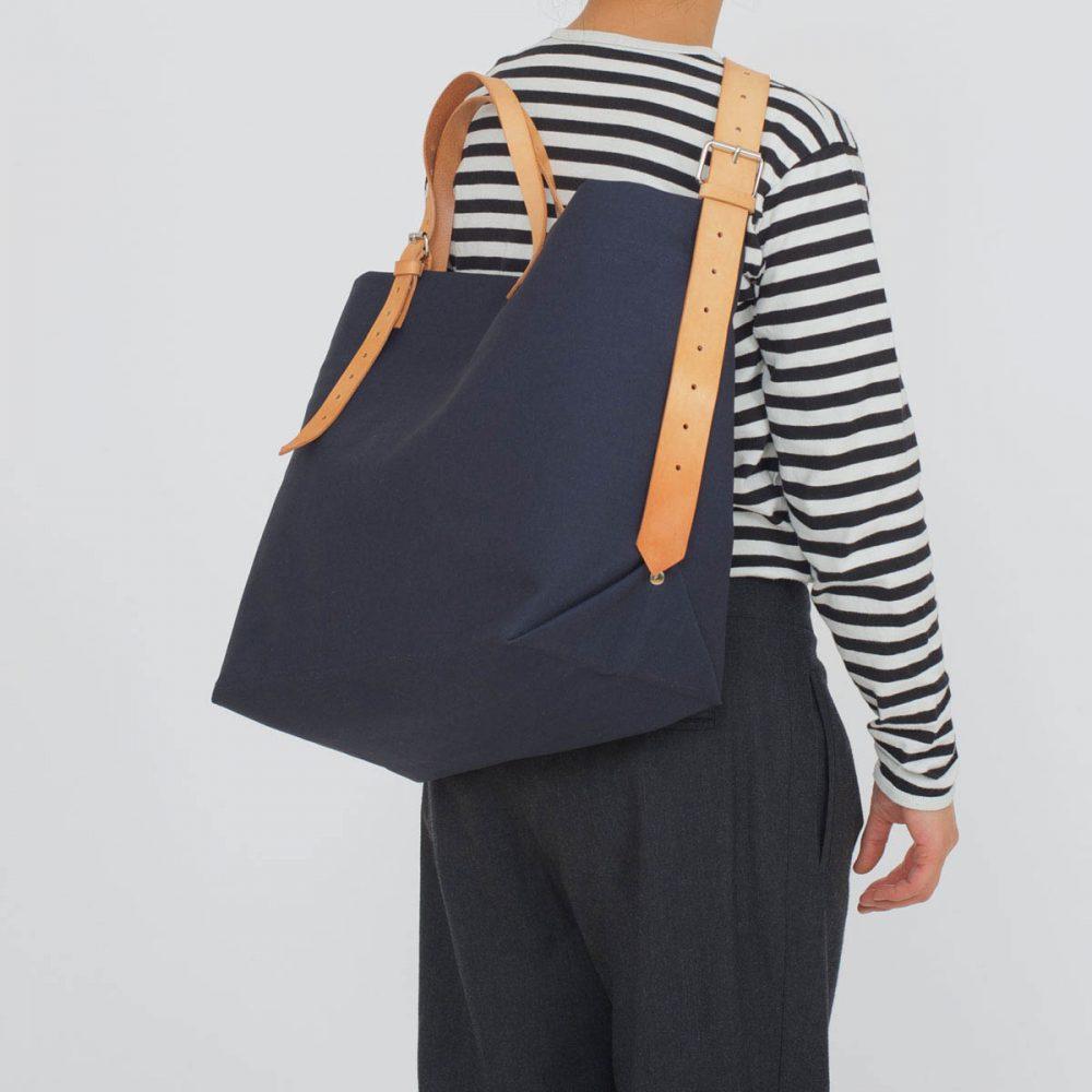PAPA BAG navy/blau #5 (Tote bag/Tragetasche)
