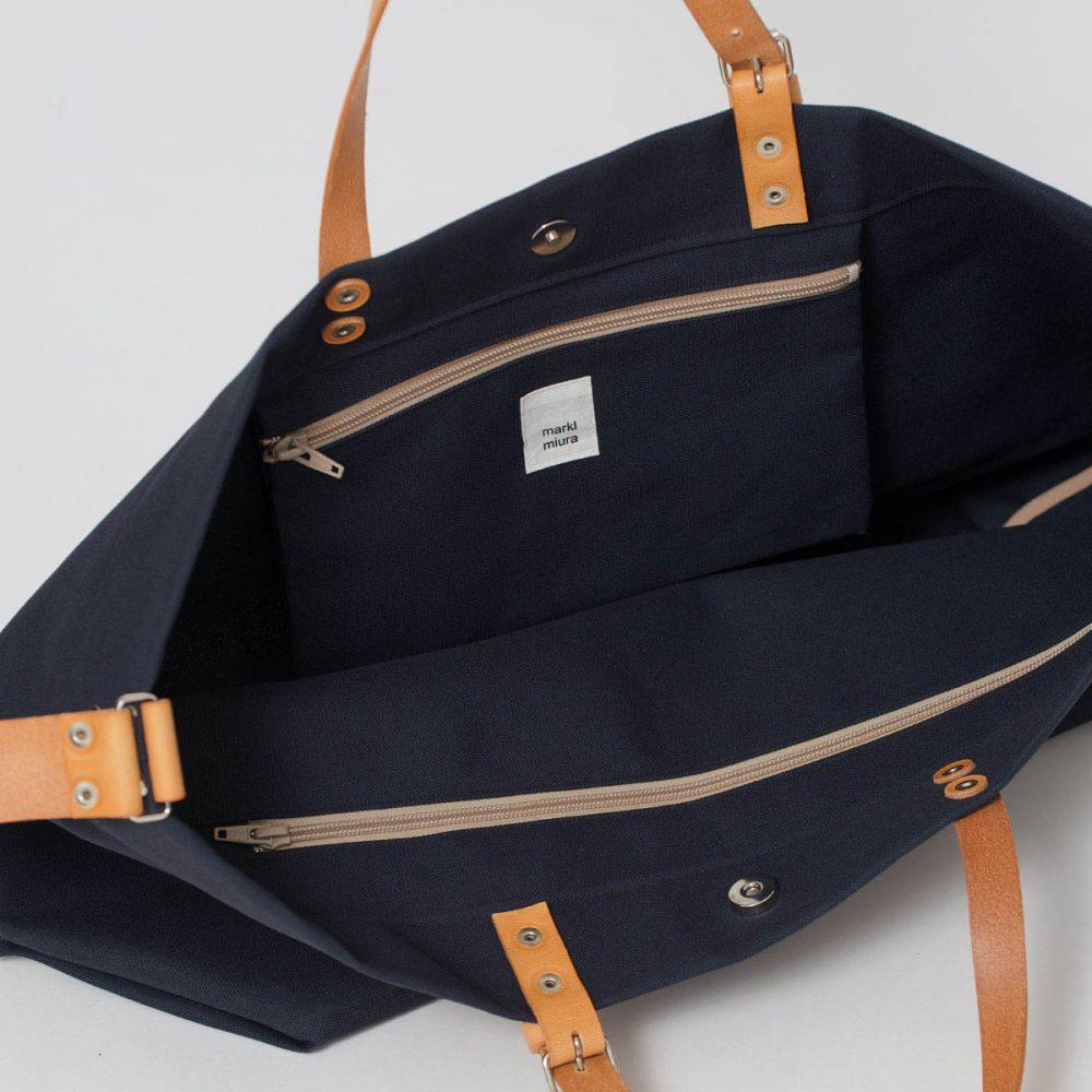 PAPA BAG navy/blau #3 (Tote bag/Tragetasche)